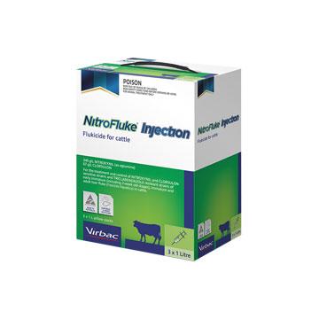 Nitrofluke Injection fluke treatment for cattle